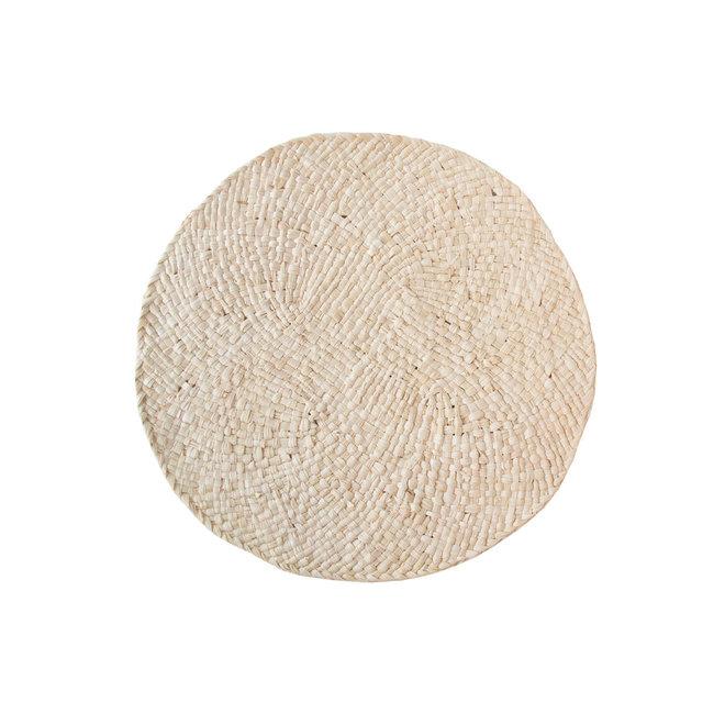 Placemat natural maïsbladeren | Ø 38cm