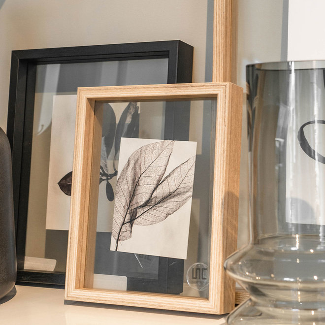 Photo frame floating   hout small