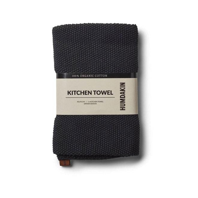 Keukendoek 100% biologisch katoen | zwart