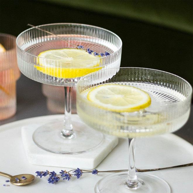 Ripple Champagneglazen   set van 2