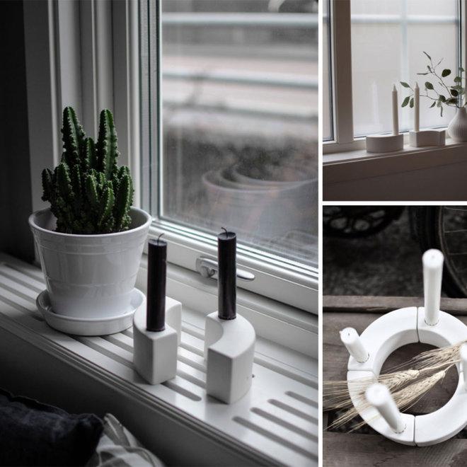 Kandelaar Böja | wit