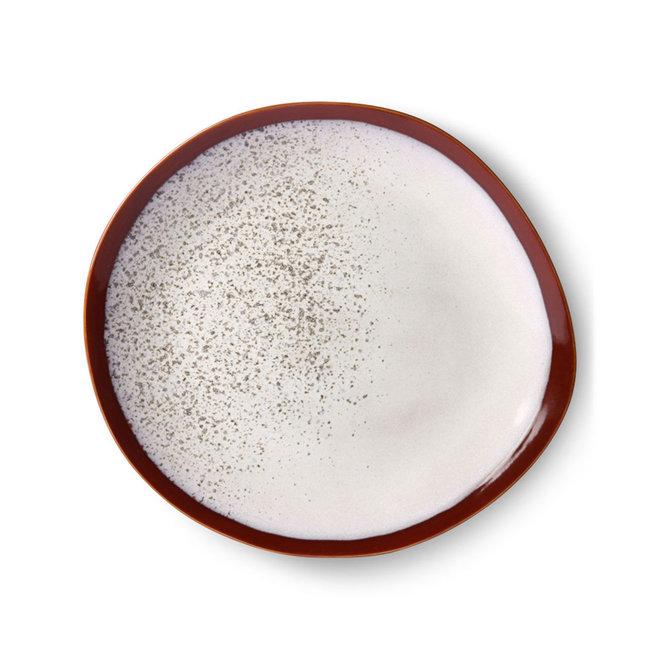 Dinerbord 'frost' | 70's ceramics