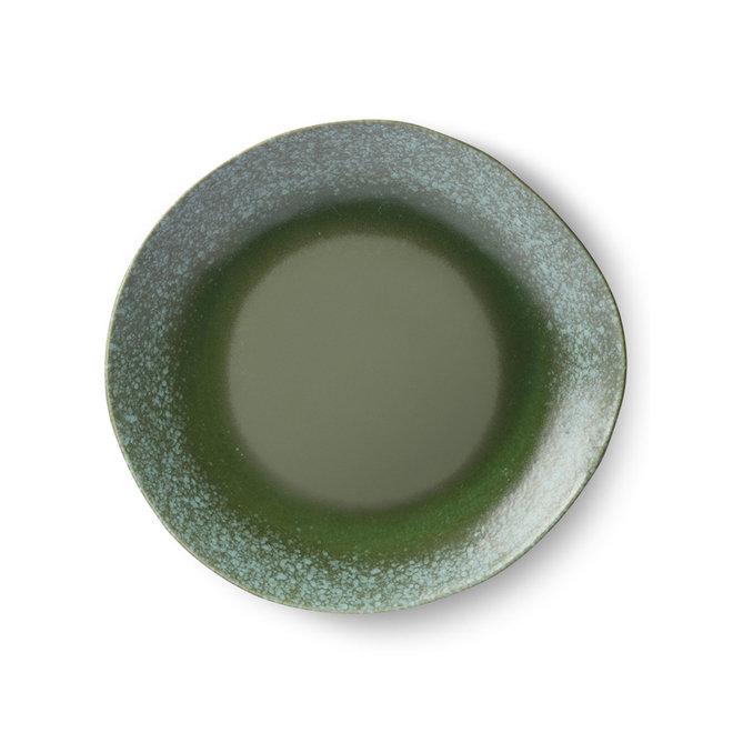 Dinerbord 'green' | 70's ceramics