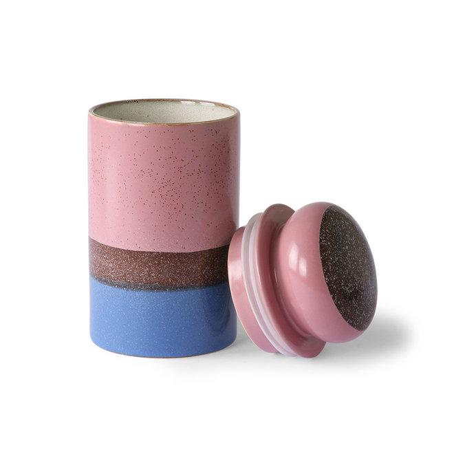 Voorraadpot 'Reef' | 70's ceramics