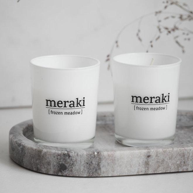 2 geurkaarsjes Meraki | Wintereditie