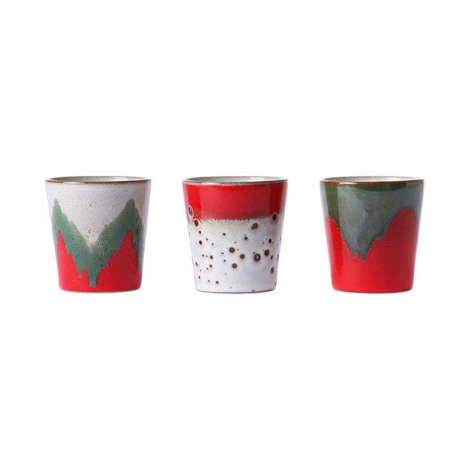 Set van 3 koffiemokjes | The Christmas Three