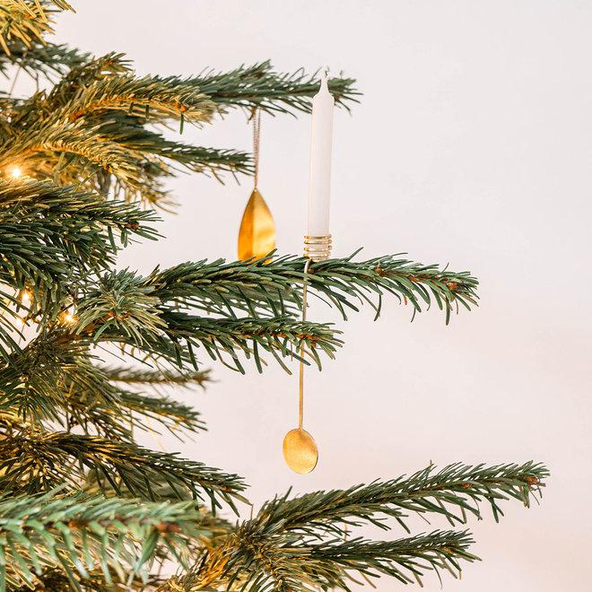 Kaarshouders kerstboom | set van 4