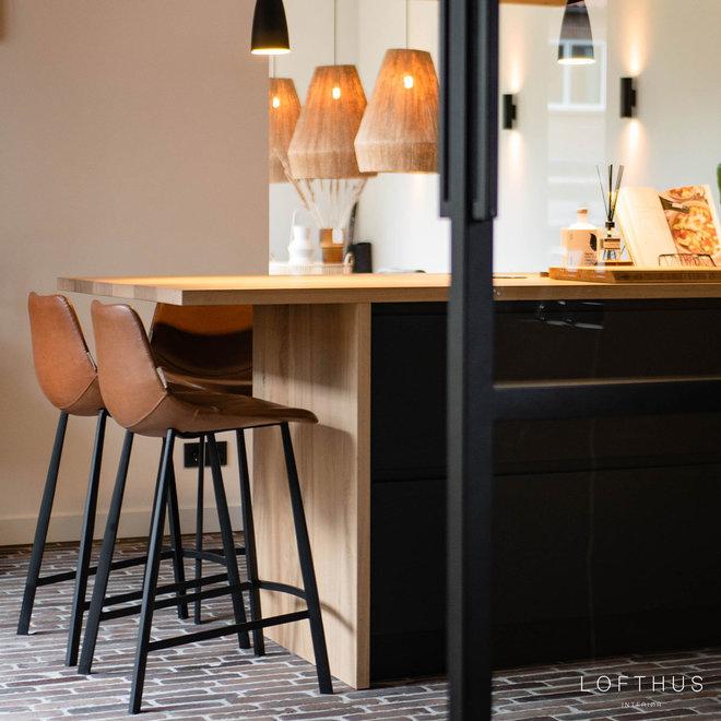 Barkruk Franky | Cognac (counter)