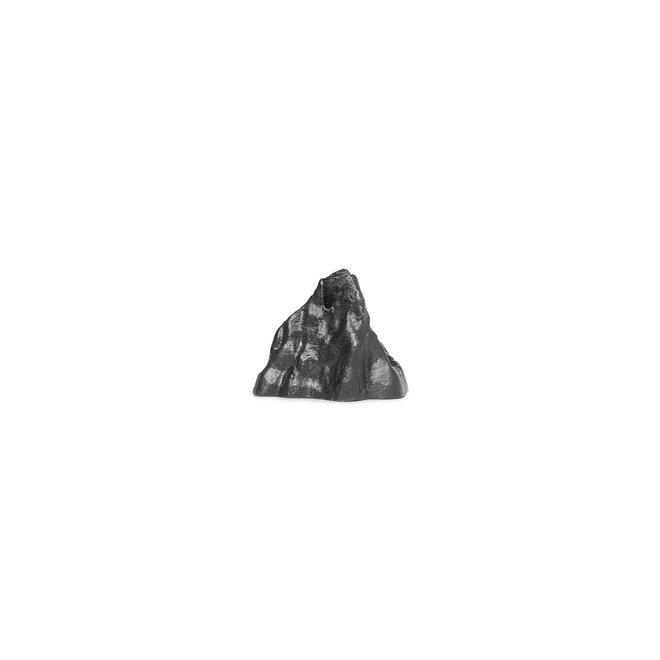 Stenen kandelaar | zwart