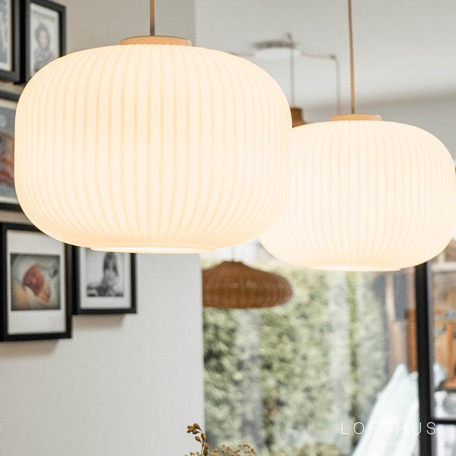 Hanglamp Milford   wit