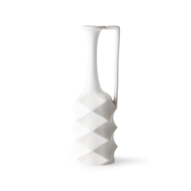 Witte porseleinen vazen | set van 4