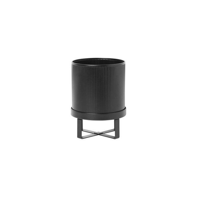 Bloempot Bau zwart | small