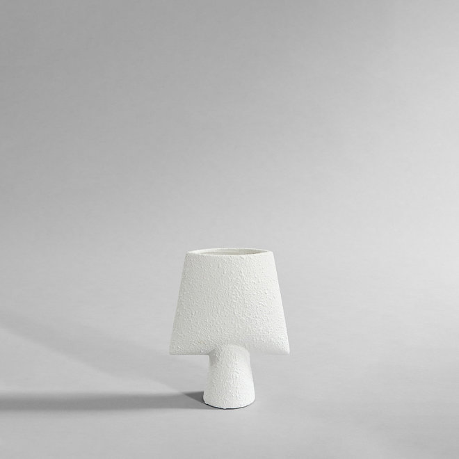 Sphere Vase Square, Mini - Bubble White