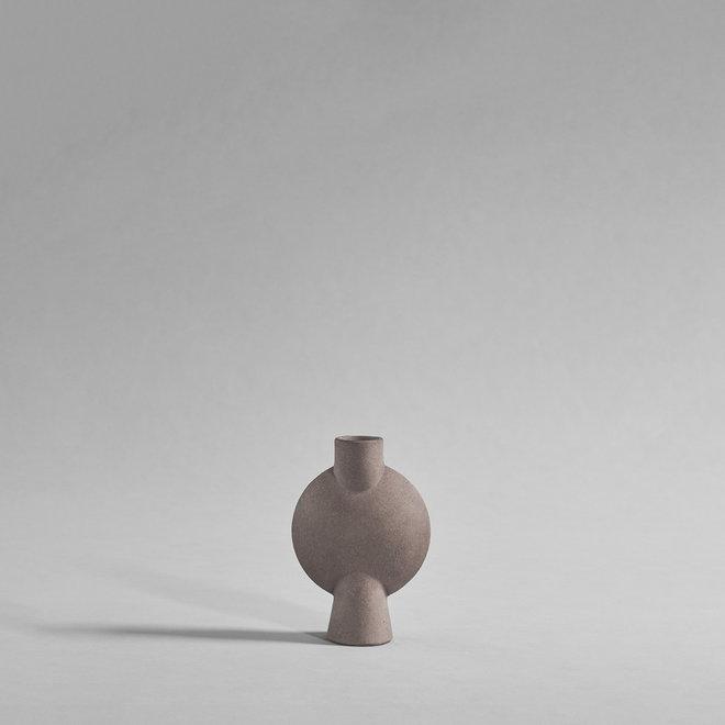 Sphere Vase Bubl, Mini - Taupe