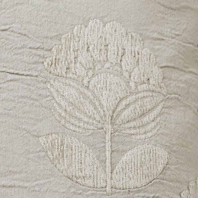 Sierkussen flower | velvet sand