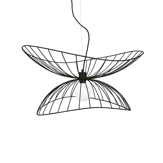 Hanglamp RAY 70cm | zwart