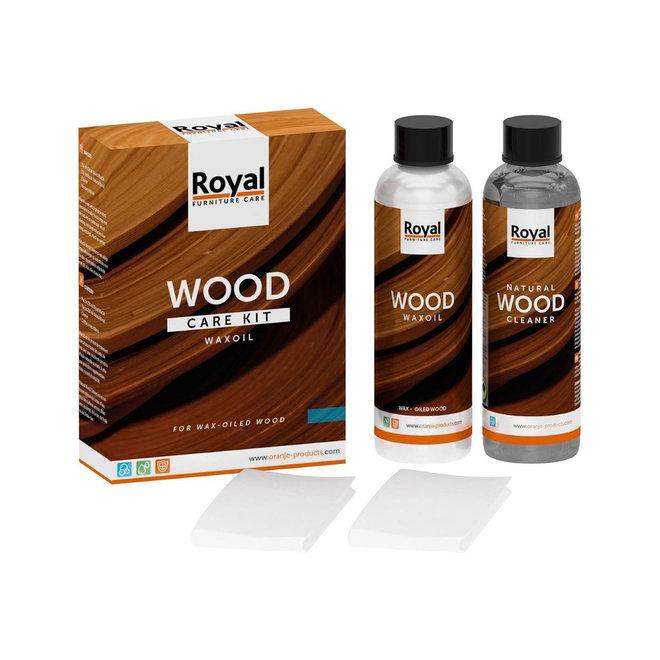 Wood Care Kit WaxOil+Cleaner 2x250ml