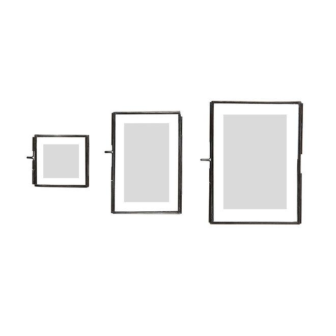 Fotolijstje metaal | zwart