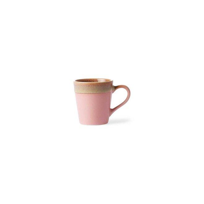 Espresso kopje 'Pink'   70's ceramics