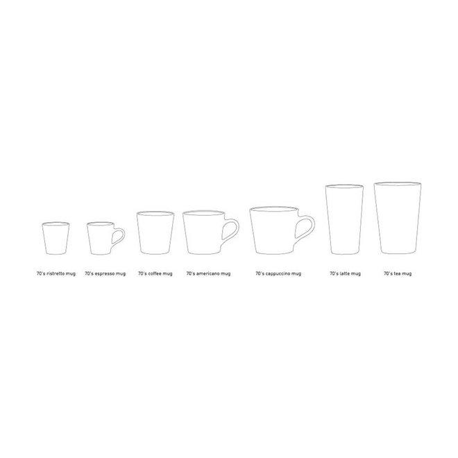 Espresso kopje 'Lava' | 70's ceramics