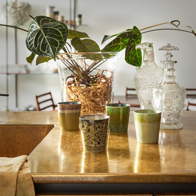 Koffiemokje Grass | 70's ceramics