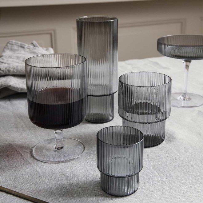 Ripple longdrink glazen   set van 4