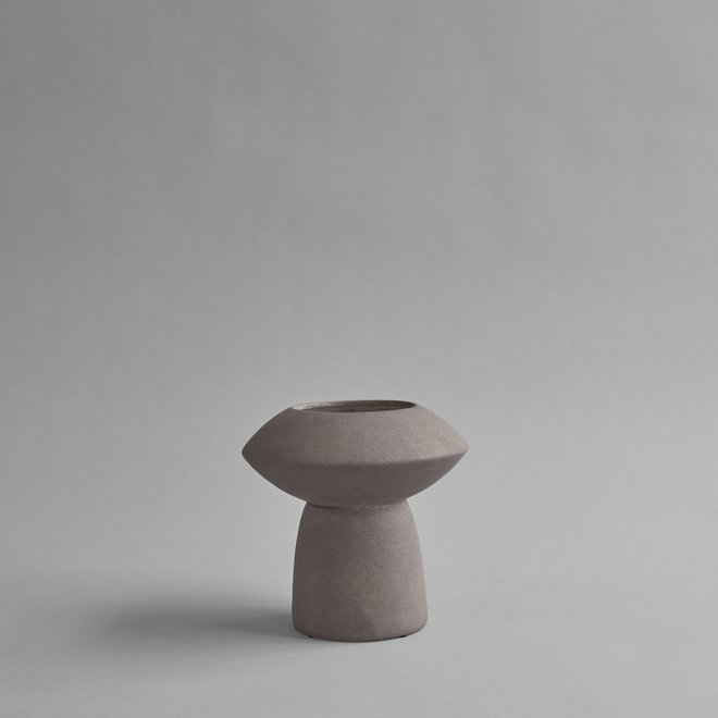 Sphere Vase Fat - Taupe