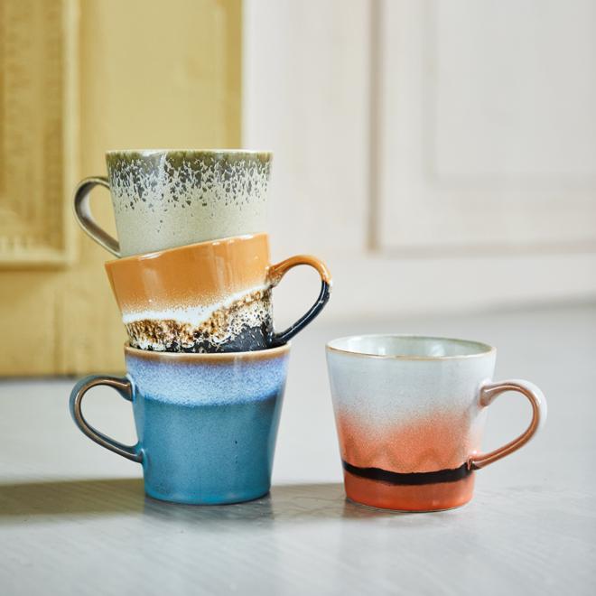 Cappuccinno mok 70's ceramics | Dusk
