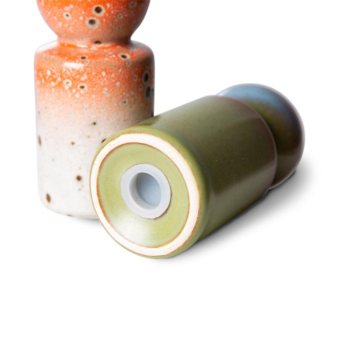 Peper + Zout set | 70's ceramics