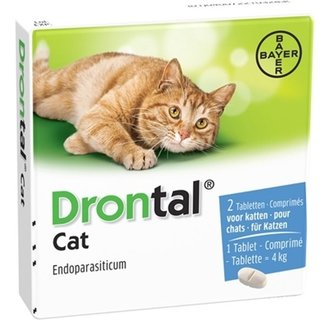 Drontal Chat 2 tablets