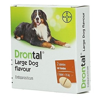 Drontal Grands chiens 2 tablet