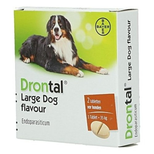 Bayer Drontal Grands chiens 2 tablet