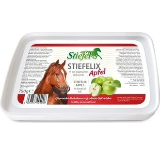 Stiefelix horse lick appel/banaan
