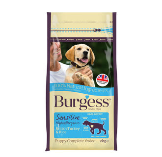Burgess Sensitive Puppy