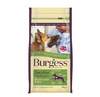 Burgess Sensitive British Lamb & Rice