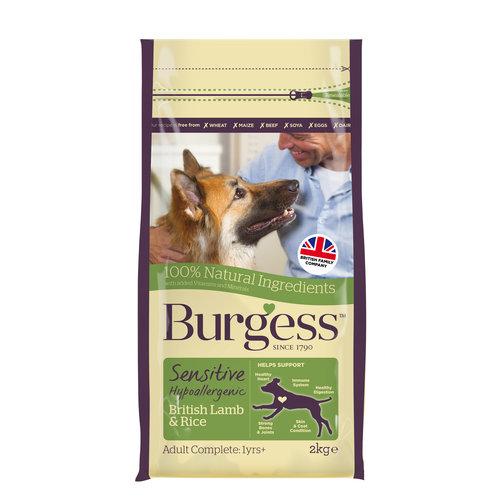 Burgess Burgess Sensitive British Lamb & Rice