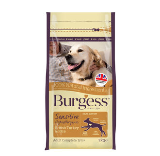 Burgess Sensitive Turkey & Rice