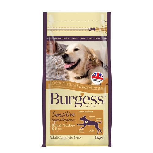 Burgess Burgess Sensitive Turkey & Rice