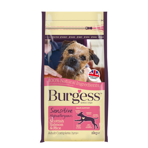Burgess Burgess Sensitive Scottish Salmon & Rice