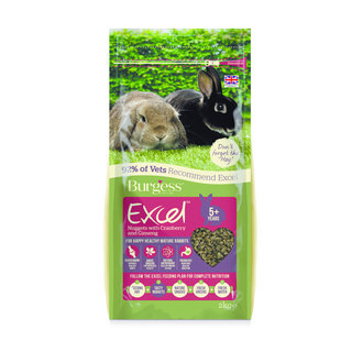 Excel Rabbit Mature Cranberry & Ginseng