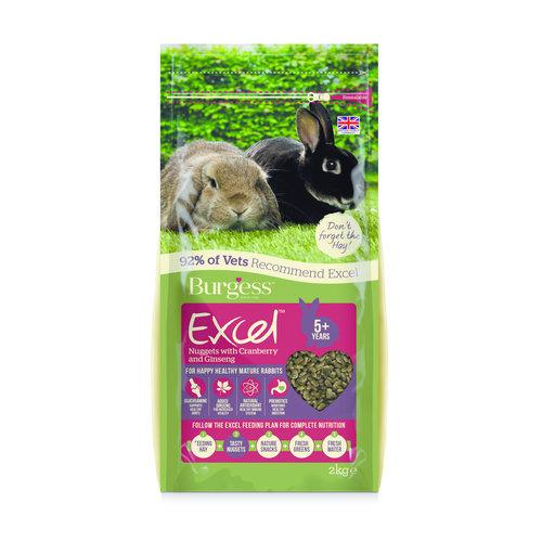 Burgess Excel Rabbit Mature Cranberry & Ginseng