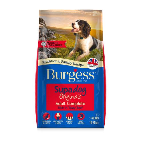 Burgess Supadog Adult Beef