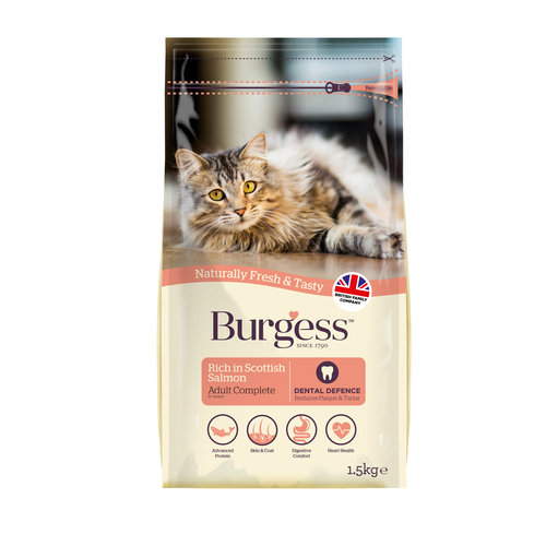 Burgess Burgess Adult Rich In Scottish Salmon