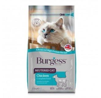 Burgess Neutered Cat 1.5Kg - New