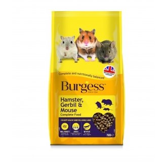 Burgess Hamster, Gerbil And Mouse Complete Food