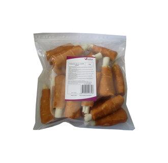 Baguette de tambour 12½cm.40-45gr + kip torsadé 1 KG