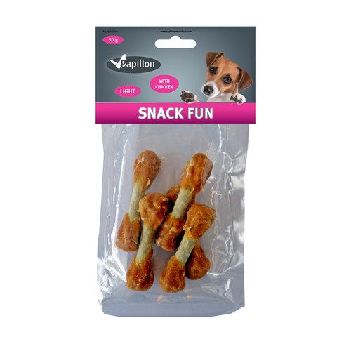Papillon chien Snack