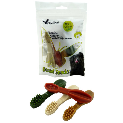 Papillon Vegetable toothbrush 4 color mix