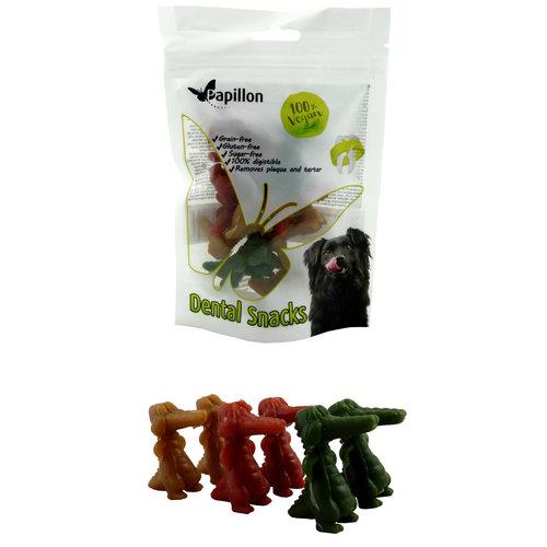 Papillon Gemüse Krokodile 3 Farbenmischung