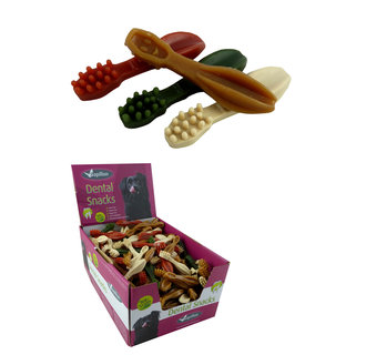 Vegetable toothbrush 4 color mix